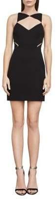 BCBGMAXAZRIA Elshane Cut-Out Sheath Dress
