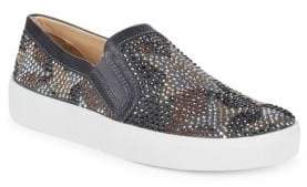 Vince Camuto Canitia Embellished Leather Sneakers