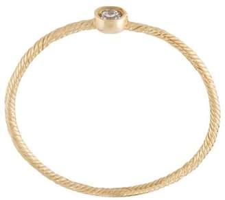 Wouters & Hendrix Gold single diamond ring