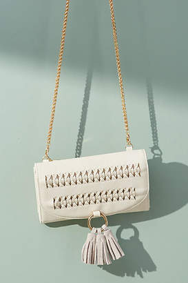 Anthropologie Stitched Crossbody Bag