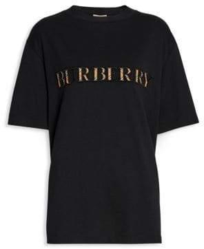 Burberry Sabeto Check Logo Tee
