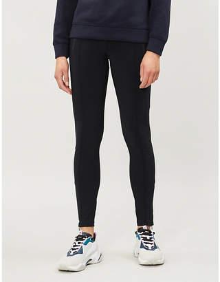 7cc87859d07b3 Black Pleated Leggings - ShopStyle UK