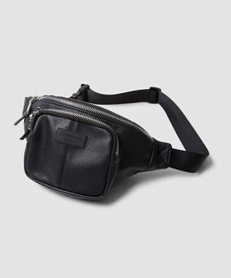 Standard CCTV Pebbled Waist Bag Black