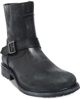Steve Madden Men's Buck Leather Boots Men's Shoes