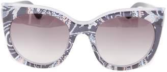 Etro Grey Plastic Sunglasses