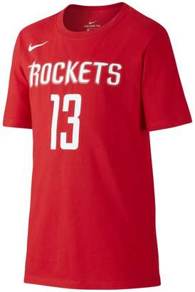 Nike Icon NBA Rockets (Harden) Older Kids'(Boys') Basketball T-Shirt