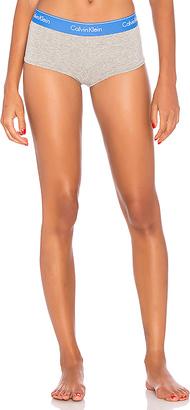 Calvin Klein Underwear Modern Cotton Boyshort in Gray $22 thestylecure.com