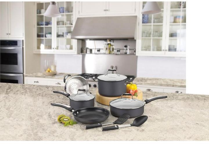 Cuisinart Pro Classic 10-Piece Hard Anodized Cookware Set