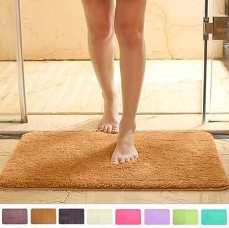 "Jeteven 8 Colors Non Slip Shower Mat Rug Carpet Quick Homes & Gardens Living Room Drying Bath Water Toilet Bathroom Safe Protection 32""x20""x1.8"""