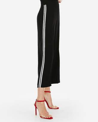 Express High Waisted Side Stripe Culottes