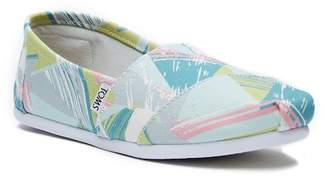 Toms Classic Pastel Multi Triangles Slip-On