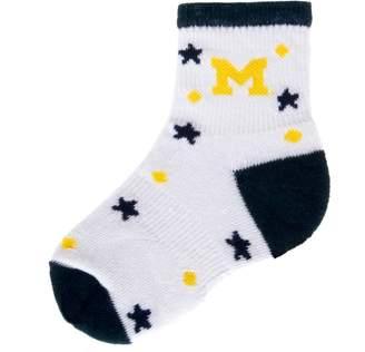 NCAA Baby Mojo Michigan Wolverines ''I'm a Star'' Cushioned Crew Socks