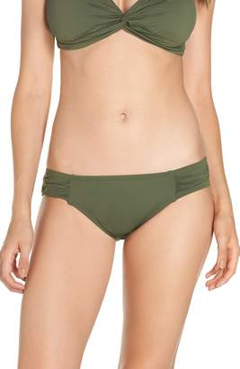 Tommy Bahama Side Shirred Hipster Bikini Bottoms