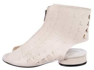 Maison Margiela Leather Cutout Sandals