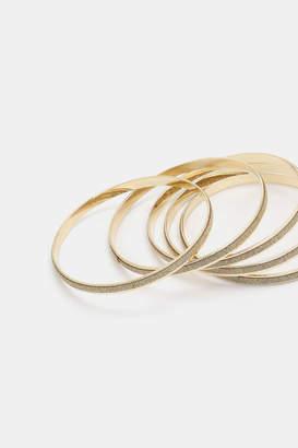 Ardene Glitter Bracelets