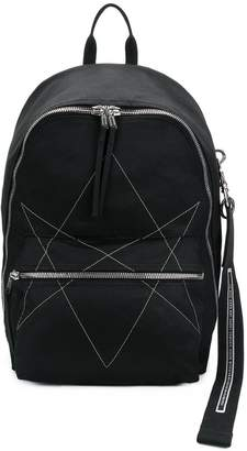 Rick Owens stitched backpack