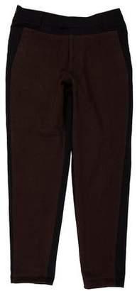 Robert Geller Wool Flat Front Pants