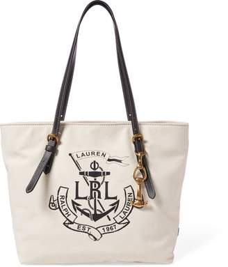 Lauren Ralph Lauren Ralph Lauren LRL Medium Canvas Tote