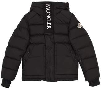 Moncler Abeville Technique Nylon Ski Jacket