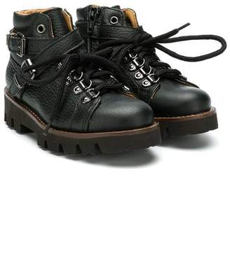 Gallucci Kids lace up boots