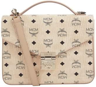MCM Medium Patricia Satchel Bag