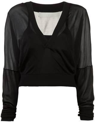Dion Lee layered lightweight sweater