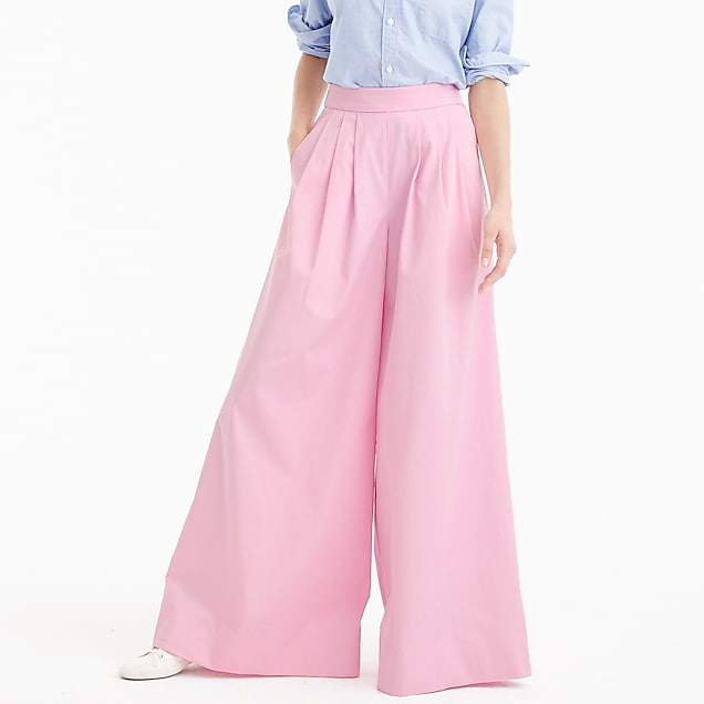 Collection ultra wide-leg cotton pant