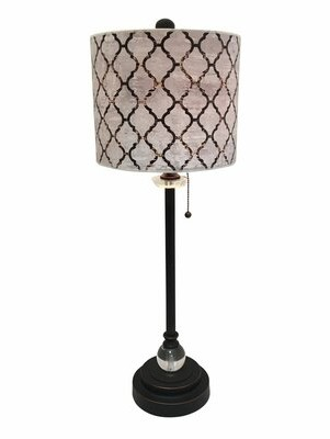 "House of Hampton Miceli Moroccan Tile 28"" Table Lamp House of Hampton"