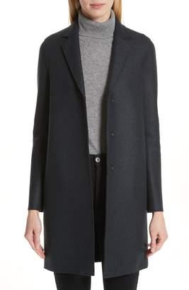Harris Wharf London Classic Cocoon Coat