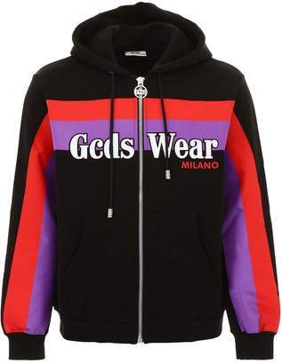Gcds GCDS Rainbow Zipped Hoodie