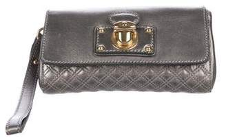 Marc Jacobs Quilted Push-Lock Wristlet