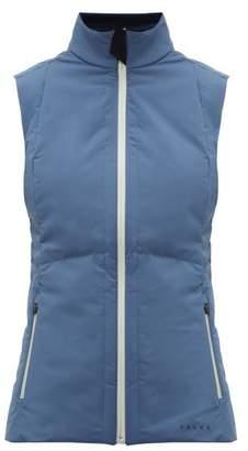 Falke Caro Zip Up Technical Shell Gilet - Womens - Blue