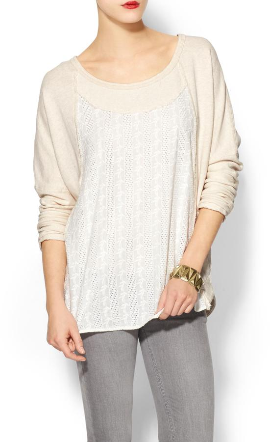 Free People Jess's French Terry Sweater