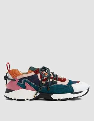Carven Nayeli Patchwork Sneaker