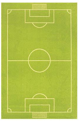 """Ivi Soccer Field Kids Area Rug, 59""""L x 39""""W"""