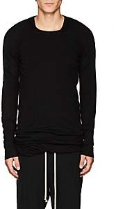 Rick Owens Men's Knit Wool Crewneck Sweater - Black