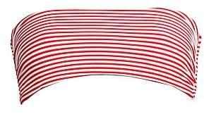 Mara Hoffman Women's Abigail Stripe Bandeau Bikini Top