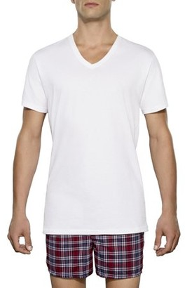 Fruit of the Loom Tall Man Collection Classic White V Neck Undershirts, 3 Pack