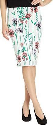 BCBGMAXAZRIA Women's Floral Pencil Skirt
