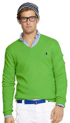 Ralph Lauren Mens Pima Cotton V-Neck Sweater (XXL)