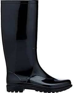Barneys New York WOMEN'S LOLA RAIN BOOTS - BLACK SIZE 8