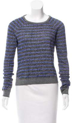 Alexander Wang Stripe Knit Sweatshirt