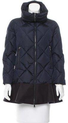 Moncler 2017 Vouglans Puffer Jacket $995 thestylecure.com