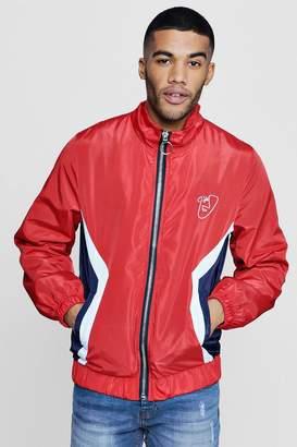 boohoo Colour Block Track Jacket