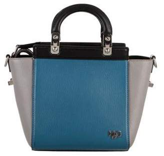 Givenchy Tricolor Leather Mini HDG Bag Blue Tricolor Leather Mini HDG Bag
