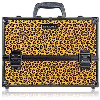 SHANY Essential Pro Makeup Train Case with Shoulder Strap and Locks -