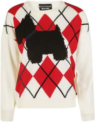 Moschino Argyle Sweater
