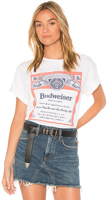 Junk Food Clothing Budweiser Label Tee