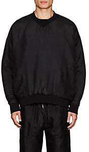 Katharine Hamnett Men's Padded Silk Sweatshirt - Black