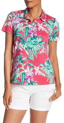 Tommy Bahama Floriana Short Sleeve Polo Shirt